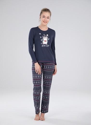 Blackspade Pijama Takım Antrasit